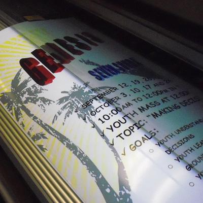 Church Printing Posters