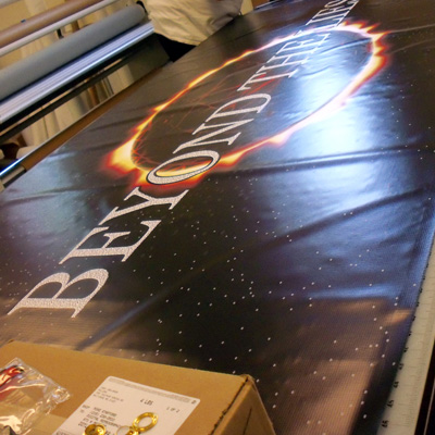 Large Banner Creation
