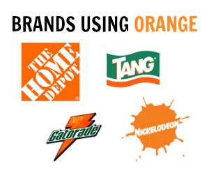brands using orange