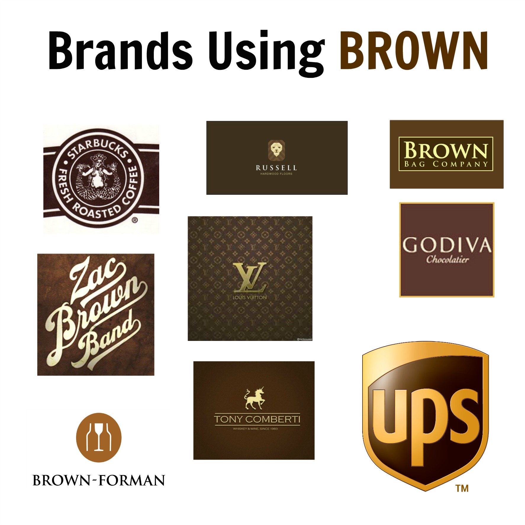 Brands Using Brown