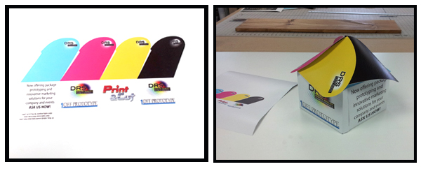 Die Cutting Prototype Marketing Sample