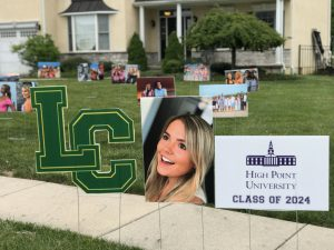 Custom Outdoor Graduation Parade Signs