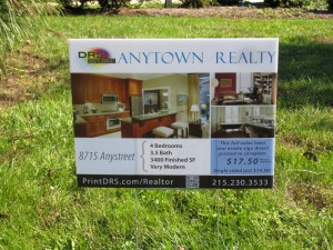 Full Color Real Estate Signs