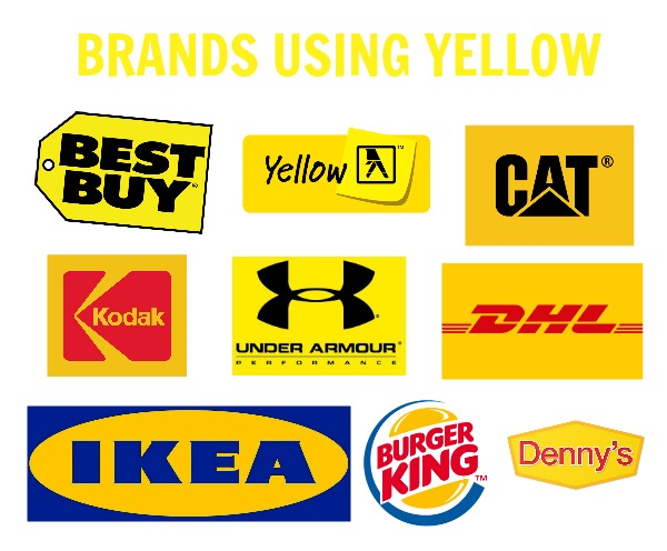 brands using yellow