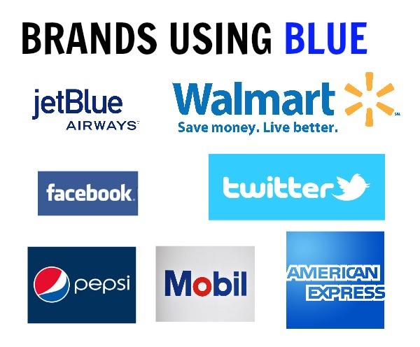 brands using blue