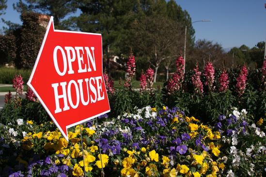 Open House Sign - Custom Shape