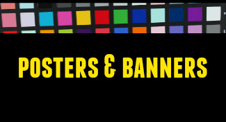 posters and banners